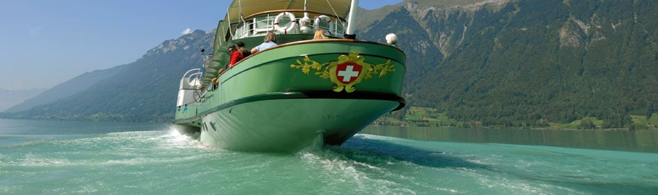 Lake Brienz in the Bernese Oberland