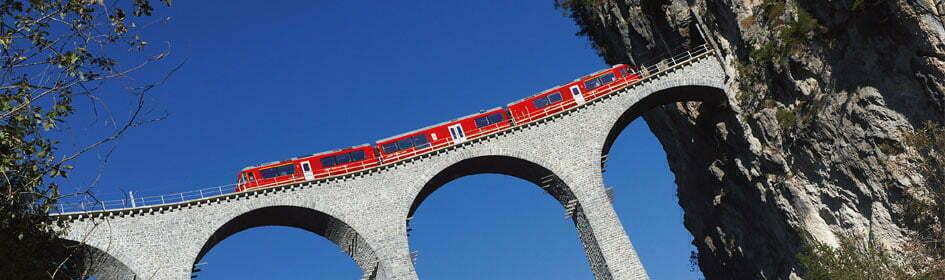 Landwasser Viaduct Сэкономить на билетах по Швейцарии